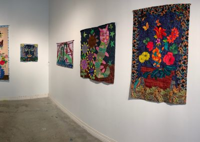 quilt retrospective at SeedCo